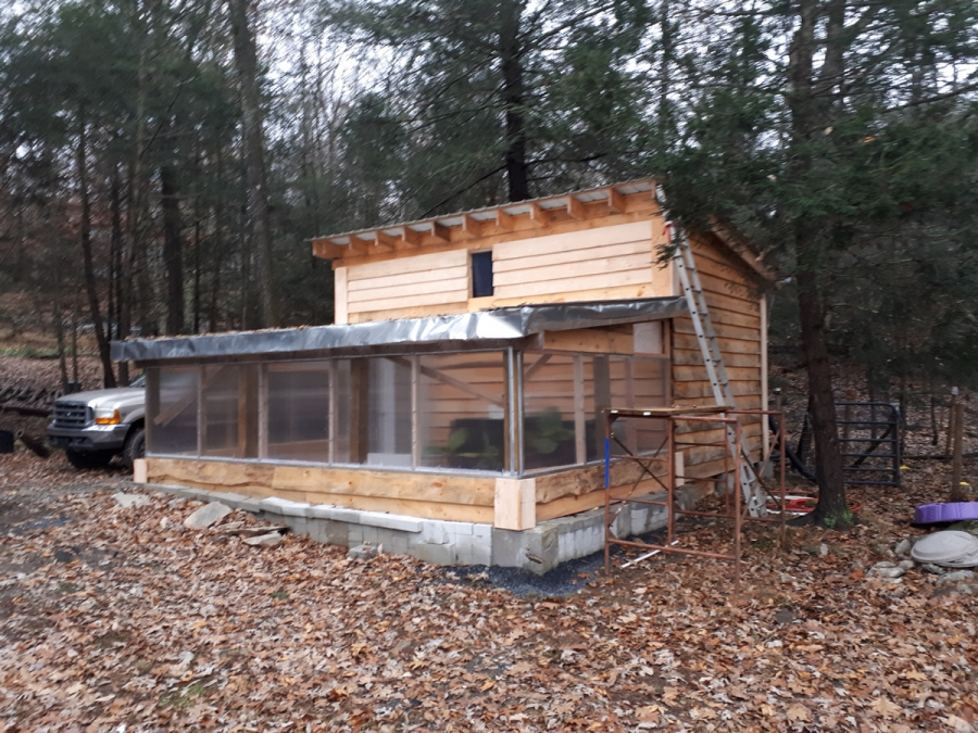 DIY Shed / Greenhouse Project (Made with real lumber)